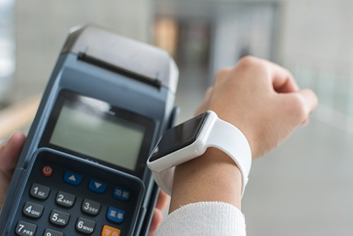 pay with smartwatch