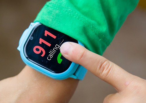 smartwatch SOS