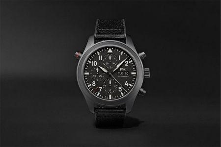 watch on black background