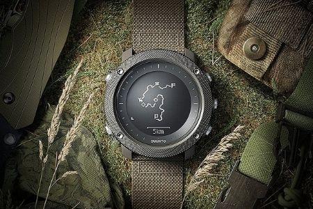 moss green tactical watch