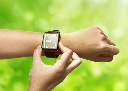 smartwatch map